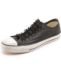 Converse X John Varvatos Chuck Taylor Multieyelet Sneakers - Lyst