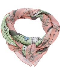 Vassilisa - Heart and Deer Scarf - Lyst