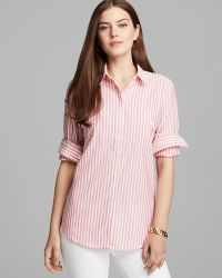 Burberry Brit Striped Buttonup Shirt - Lyst