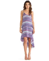 Chalk Purple Divit Dress - Lyst
