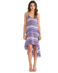Chalk Purple Divit Dress - Lyst