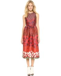 Mother Of Pearl Alana Dress  Red Gradient Floral - Lyst