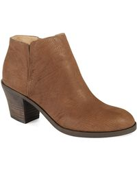 Eileen Fisher Brown Great Boots - Lyst
