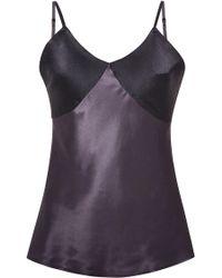 Myla Textured Silk Camisole - Lyst