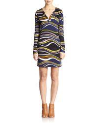 Diane von Furstenberg Reina Silk-Jersey Dress - Lyst