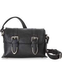 Nila Anthony - Black Buckle Me Twice Crossbody - Lyst