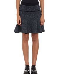 A.L.C. Abstract Pattern Kenneth Flared Mini Skirt - Lyst