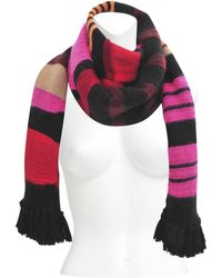 Sonia Rykiel Striped Wool and Mohair Scarf - Lyst