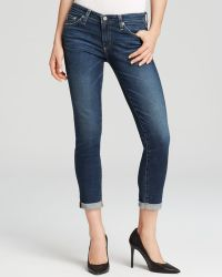 AG Adriano Goldschmied Jeans - Stilt Roll Up In 6 Years Dive - Lyst