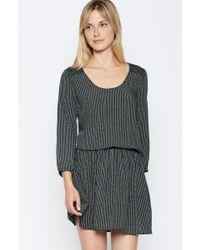 Joie Zandi Dress black - Lyst
