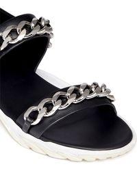 Givenchy Chain Detail Vibram® Sandals - Lyst