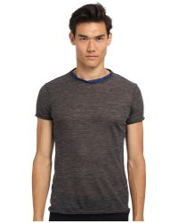 Costume National Rame Ss Tee - Lyst