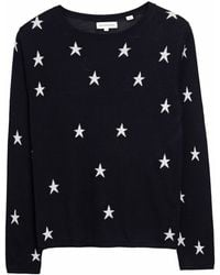 Chinti & Parker | All Over Star Sweater Navy | Lyst