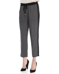 Splendid Harbor Geometric Print Pants - Lyst