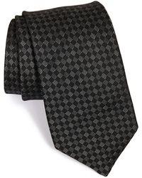 Michael Kors - Grid Silk Tie - Lyst