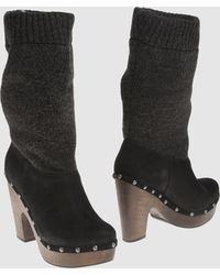 Get U High-Heeled Boots - Lyst