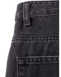 LAC - Bk Ripped Denim Shorts - Lyst