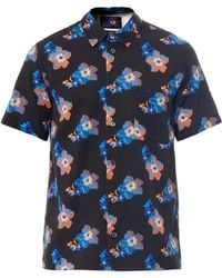 Marc Jacobs Floralprint Cotton Shirt - Lyst