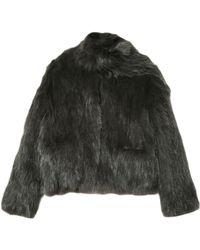 Vanessa Bruno Antonella Fur Jacket - Lyst