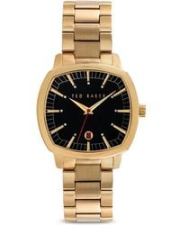 Ted Baker Square Sport Watch 40mm - Lyst