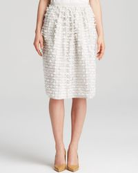 Tibi Skirt - Bow Trim - Lyst