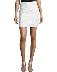Nicole Miller Artelier - Arched Front-seams Skirt - Lyst