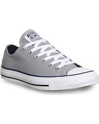Converse All Star Low-top Leather Trainers - For Men - Lyst