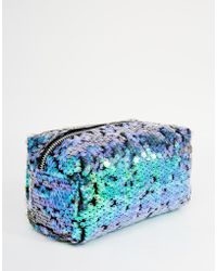 Jaded London - Mermaid Sequin Make-Up Bag - Lyst