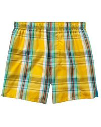 Gap Multicolor Plaid Boxers - Lyst