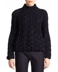 The Row Leander Hand-Knit Sweater - Lyst