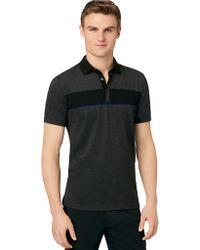 Calvin Klein Slim Fit Engineered Polo Shirt - Lyst