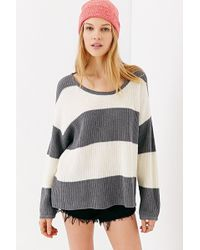 Mouchette - Skyler Striped Sweater - Lyst