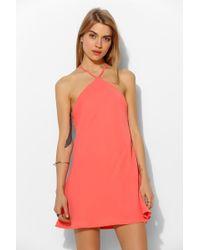 Sparkle & Fade - Ultra Strappy Back Slip Dress - Lyst