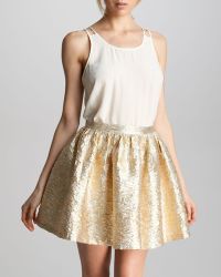 Pjk Patterson J. Kincaid Laverne Brocade Skirt - Lyst