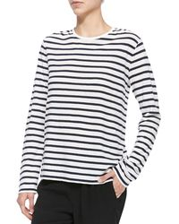 T By Alexander Wang Long-sleeve Tee W Stripes - Lyst