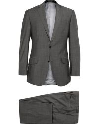 Richard James Grey Hyde Slim-Fit Super 130S Wool Suit - Lyst