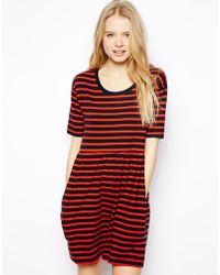 Jack Wills - Striped Dress - Lyst