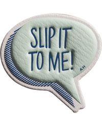 Anya Hindmarch Slip It To Me! Sticker - Lyst