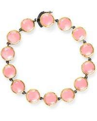She Bee Gem - Youre So Fancy Bracelet in Pink - Lyst