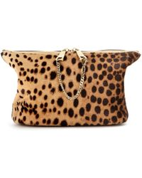 Chloé Baylee Leather Pouch - Lyst