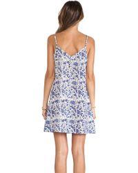 Tysa - Mini V-neck Layering Dress - Lyst