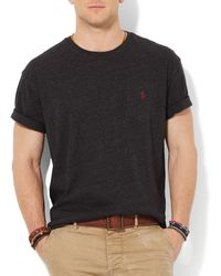 Ralph Lauren Polo Jersey Pocket Crewneck Classic Fit - Lyst