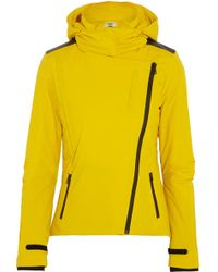 Fendi Hooded Twill Ski Jacket - Lyst