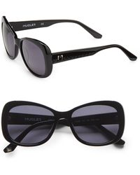 Thierry Mugler Modified Square Acetate Sunglasses - Lyst