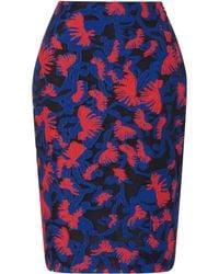 Mary Katrantzou Jq Palma Pencil Skirt Wahaca - Lyst