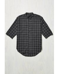 Assembly - Noncollar Button-down Shirt - Lyst