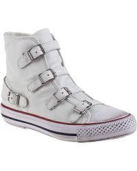 Ash Virgin Sneaker White Leather - Lyst