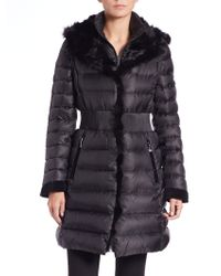 Dawn Levy | Donnie Convertible Fur-trimmed Puffer Coat | Lyst