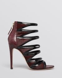 B Brian Atwood Open Toe Strappy Evening Sandals - Lynnden High Heel - Lyst