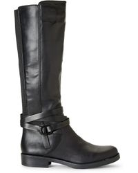 Kenneth Cole Reaction - Black Kent Play Riding Boots - Lyst